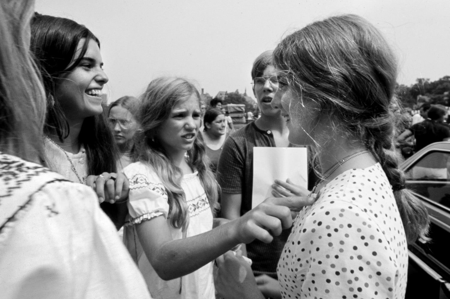 Maria Shriver w Caroline and Rory Kennedy