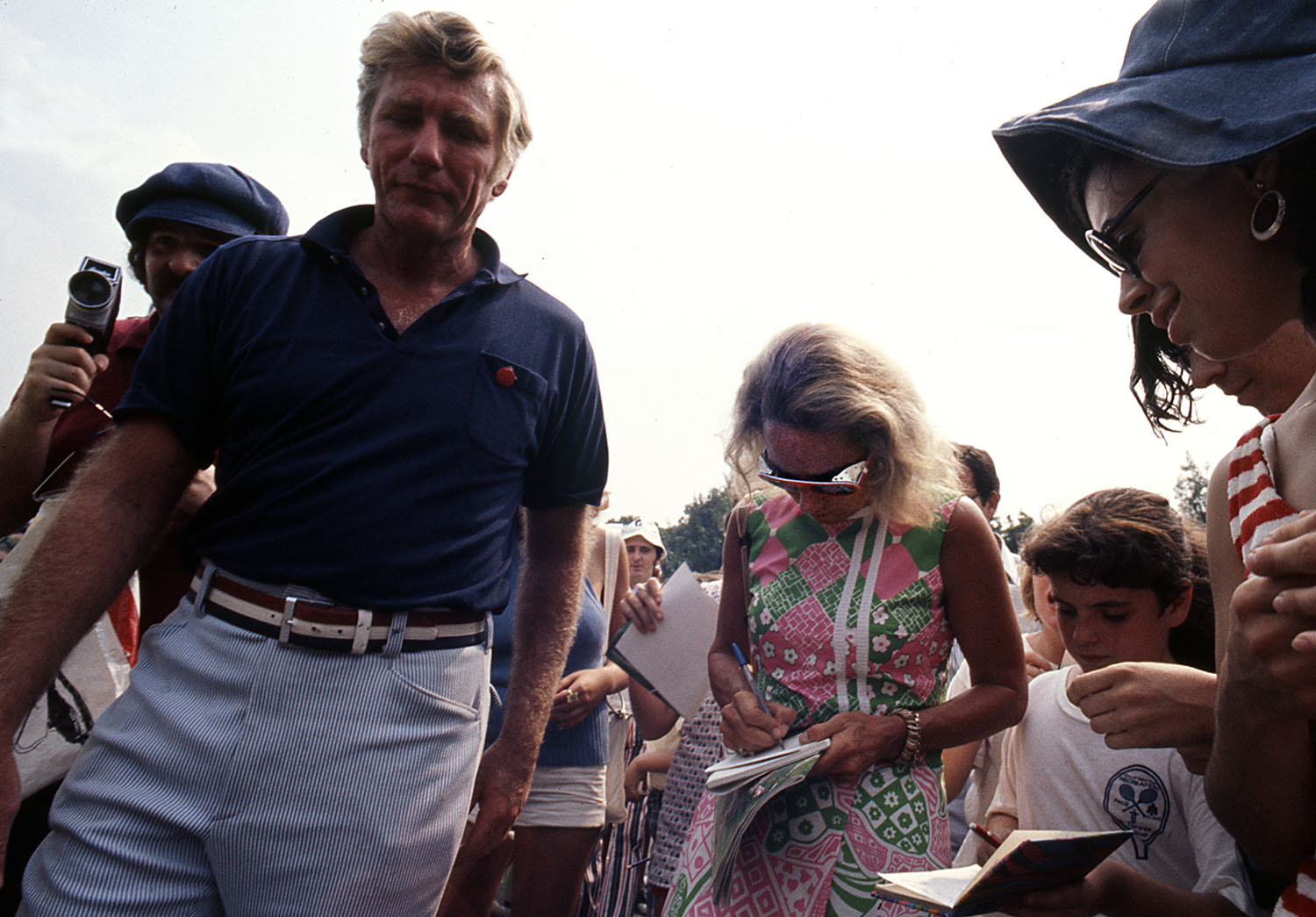 Bill Barry and Ethel Kennedy 01