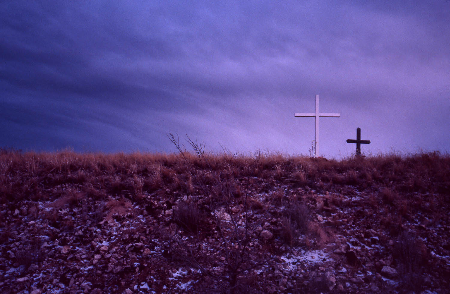 Crosses on Horizon